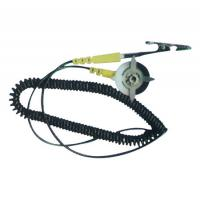 ESD Earth Wire Anti Static Grounding Cord With Banana Plug For ESD Mat Grounder Manufactures