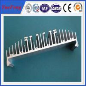 aluminum profiles for heat sink factory, custom extruded aluminium heatsink profile Manufactures