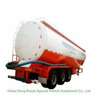 Tri Axle Steel Tank Semi Trailer For Dry Bulk Cement Delivery 80Ton 65000L Manufactures
