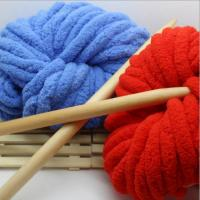 China Soft hand feel with 100% light polyester chenille yarn for sweaters on sale