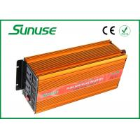 China 4000 Watt Full Pure Sine Wave Power Inverter , 12 Volts To 220 Volts Square Inverters on sale