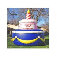 China Cake Shape Advertising Props For Birthday Party Decoration Easy Installation on sale