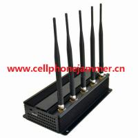 7W Powerful All GPS Signals Jammer (GPS L1,L2,L3,L4.L5) cell phone jammer Manufactures