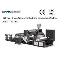 Non - Stop Auto Material Exchange Multifunctional Laminating Film Machine 150m/Min Manufactures