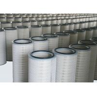 China Industrial Cartridge Filters Flame Retardant Polyester PTFE Material Membrane on sale