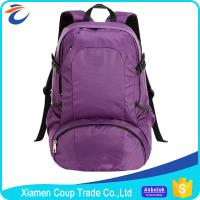 China Customized Colors Nylon Sports Bag , Light Travel Backpack For Women on sale