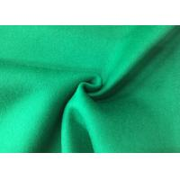 Pure Green Double Layer Fabric , Wool Felt Fabric Various Design Comforcable Manufactures