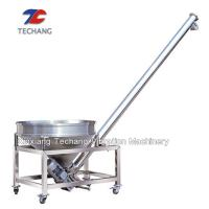 Industry Powder Steel Inclined Screw Feeder Auger Screw Conveyor Manufactures