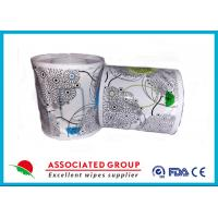China Flushable Wet Wipes Rolls For Household Toilet Use , Slight Scented Wet Wipes on sale