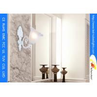 Aluminum Lamp Shades Led Wall Lamps White Resin Painted Corridor Living Room Glass Manufactures
