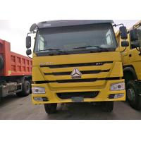 40 Ton Sinotruk Howo 6x4 Dump Truck , Yellow Color Heavy Duty Tipper Trucks Manufactures