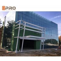 China Building exterior reflective/Low-E glass facade aluminum curtain wall system on sale