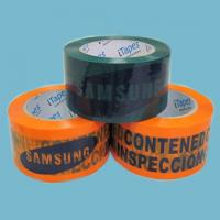China Bopp Film Heat Resistant Printed Packaging Tape For Parcel Wrapping on sale