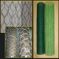 Home Black Rabbit Wire Netting , 20 Gauge Hexagonal Wire Mesh Fence Manufactures