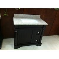 Anti - Stain Single Bathroom Vanity Cabinet Single Sink For Home / Hotel Manufactures