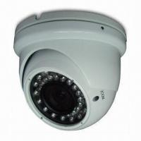 420TVL CCTV Vandal-proof IR Dome Camera with 1/3-inch Sharp CCD, 3.5 to 8mm Lens and 25m IR Distance  Manufactures