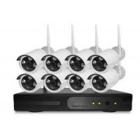 2.0MP Home Wireless Cctv Kits 8PCS IP Camera With ICR Infrared Led Night Vison Manufactures