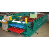 Corrugated Roof Panel Roll Forming Machine Wave Galvanized Roof Sheet Cold Roll Former Manufactures