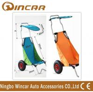 China Aluminum Folding Beach Cart / surf fishing Cart Kayak Trolley on sale