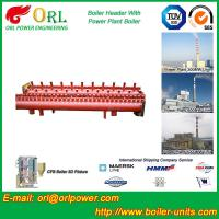 Electrical Water Boiler Header Manifolds High Pressure , Heating Manifold Systems Manufactures
