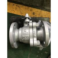 API Cast Steel Floating Ball Valve Fire Safe Design Long Working Life Manufactures