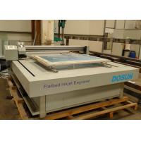 Flat-bed Textile Engraving Machine 6 - 8 Min./m² , High Speed Flatbed Inkjet for sale