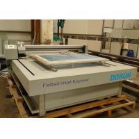 Flat-bed Textile Engraving Machine 6 - 8 Min./m² , High Speed Flatbed Inkjet Engraver for sale
