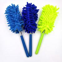China Mini Microfiber Chenille Cleaning Duster Household Dusting Brush Kid Car Cleaning Brush Washing Duster on sale