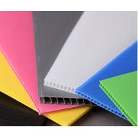 China 4' x 8' Roofing Corrugated Plastic Sheets for Greenhouse , Waterproof on sale
