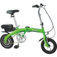China HLTD-12 folding electric bicycle with lithium battery on sale