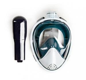 Flat Lens 180 Degree Snorkel Mask , Waterproof Full Face Mask Anti - Leak Manufactures