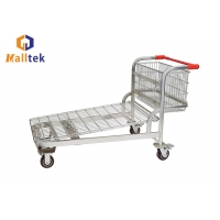 China Hand Push 500kgs Logistics Warehouse Storage Trolley on sale