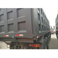 10 Tyres Sinotruk Howo Heavy Dump Truck 6x4 Driving Type Manual Operated Manufactures