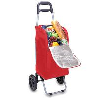 China Cart  collapsible cooler bag on Wheels - Picnic Time insulated thermal bags on sale