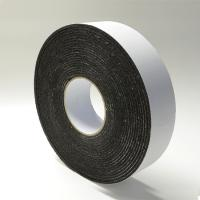 China Black Rubber Die Cut Adhesive Tape Backed Foam For Heat / Sound Insulation on sale