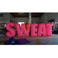 Sweat Characters Inflatable Product Replicas Silk Screen Printing Excellent Design Manufactures