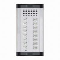 China Audio door phone for apartment, European style, CE certified, supports up to 24 phones on sale