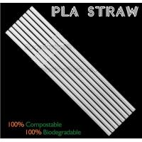 China Eco-friendly straw for drinking use, 100% compostable straw, PLA folding drinking straw on sale