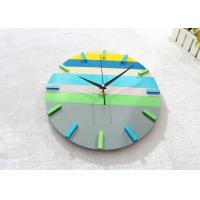 China 12 Large Round Creative Wall Clocks Ultra Thin Battery Operated Clock on sale