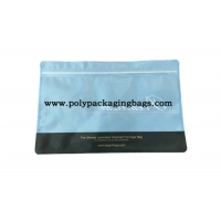 China One Side Compound One Side Transparent Foil Ziplock Bags on sale
