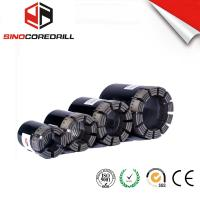 Geological Diamond Core Drill Bit , Diamond Impregnated Bits With High Speed Manufactures
