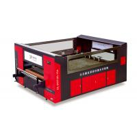 China Leather Laser Cutting Machine With Digital Multi Color Printing Function on sale