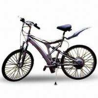 Aluminum Electric Mountain Bicycle with Intelligent Controller and Double Shock Absorber Manufactures