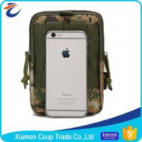 Durable Canvas Materials Medical Waist Bag / Military Waterproof Bag For Ipad Manufactures
