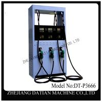 6 nozzle 220 V petrol station luxury type electric fuel pump Manufactures