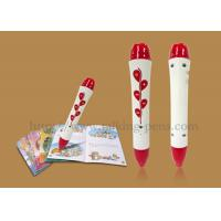 Red Rose Mini Mp3 Playing Kids Reading Pen For Studying Japanese / Russian Manufactures