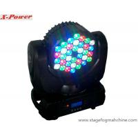36 Pcs 3 Watt RGB Led Wash Lights  Beam Moving Head Light With LCD Display  X-56 Manufactures