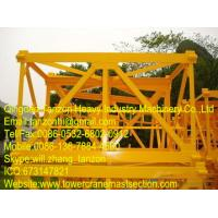 F0/23B Plated Tower Crane Sections Interchangeable With Q345B Steel Manufactures