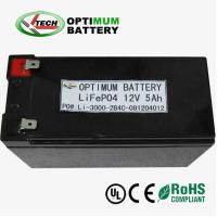 Lifepo4 12v 10ah  Lithium-Ion Battery Packs For Light Emitting Diode Manufactures