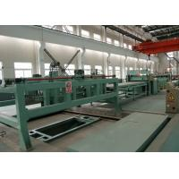 Sheet Metal Cut To Length Line Machine PLC Control System High Precision Manufactures